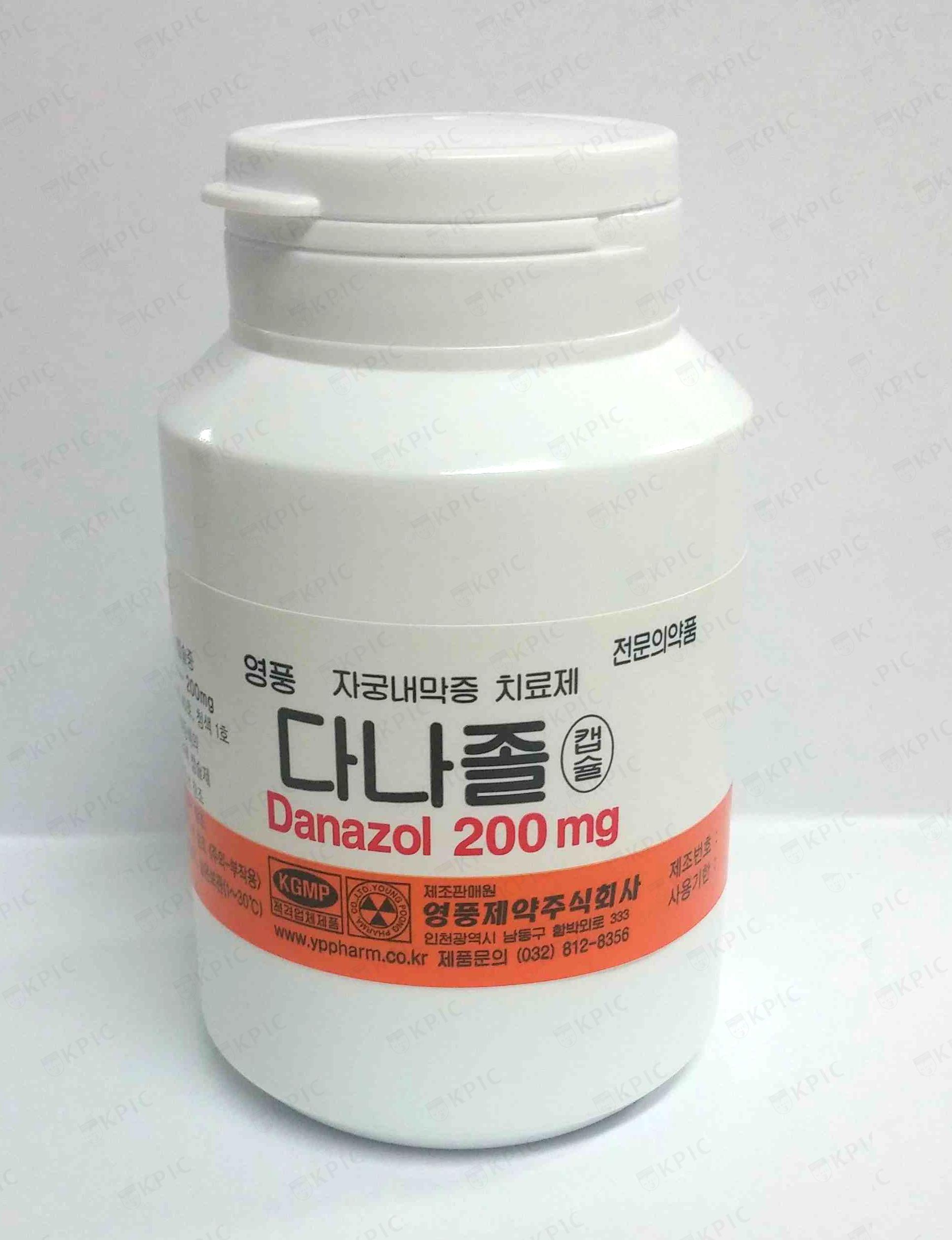 Danazol Drug Info
